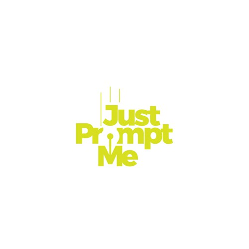 Journal logo with the title 'Just Prompt Me Logo'