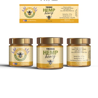 Hemp Honey Label