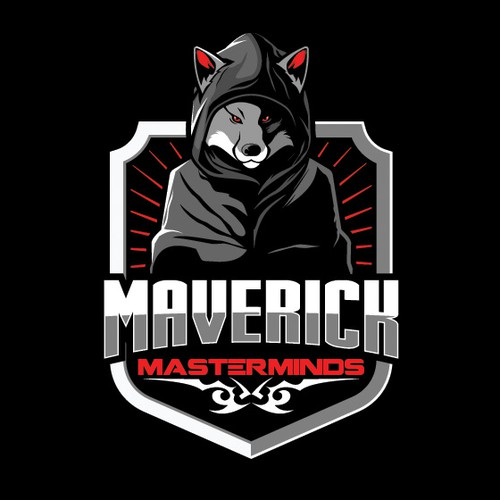 Foxy logo with the title 'MAVERICK MASTERMINDS'