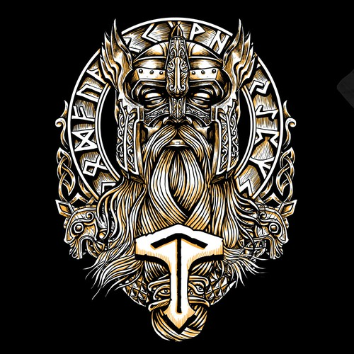 Epic design with the title 'epic thor (viking)'