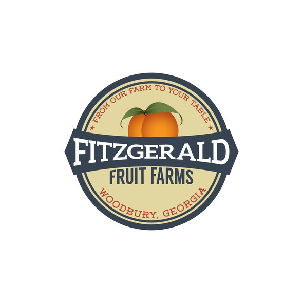 Atlanta logo with the title 'Fitzgerald Fruit Farms'