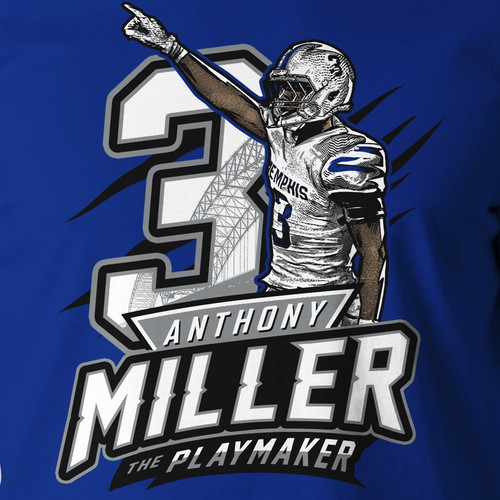 Badass t-shirt with the title 'Sport T-shirt for Memphis Player'