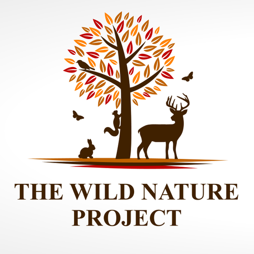 Tracking logo with the title 'logo for wilderness survival, nature, and tracking school'