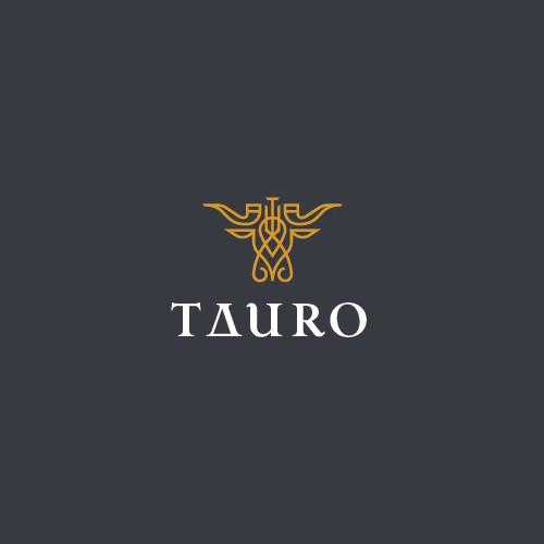 Taurus logo with the title 'Tobacco Company logo'