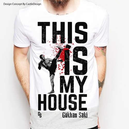 UFC design with the title 'THIS IS MY HOUSE'