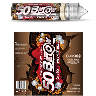 50BELOW eliquid