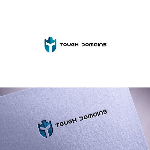 Knight logo with the title 'Tough Domain'