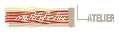 Atelier design with the title 'Creare logo che valorizzi manualità e contenga riferimenti all'illustrazione per l'infanzia'