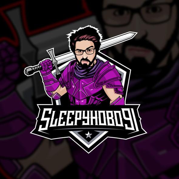YouTube logo with the title 'SLEEPYHOBO91'