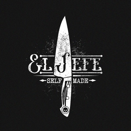 Cook design with the title 'El Jefe'