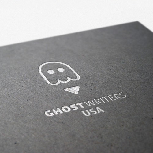 Writer logo with the title 'Ghost Writers USA'