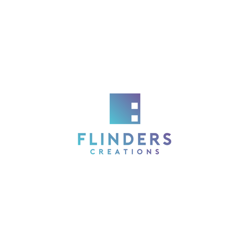 Production house logo with the title 'Flinders Creations'