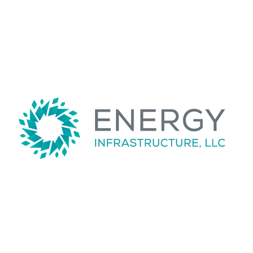 Breeze logo with the title 'Energy industry logo'