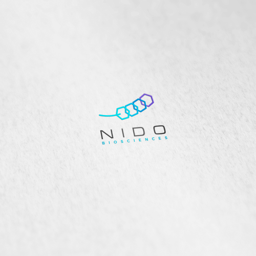 DNA logo with the title 'Logo for New Neuro Biotech Company'