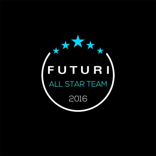 Black and blue logo with the title 'FUTURI ALL STAR TEAM 2016'