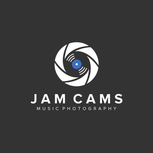 Camera logo with the title 'Jam Cams'