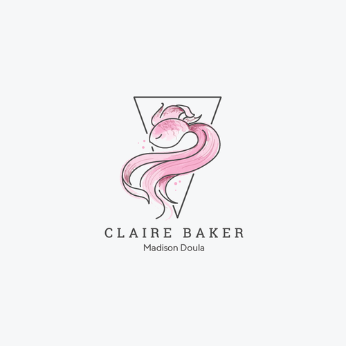 Mother design with the title 'Claire Baker Madison Doula'