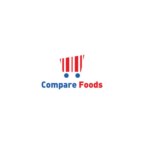 Supermarket logo with the title 'Supermarket logo'