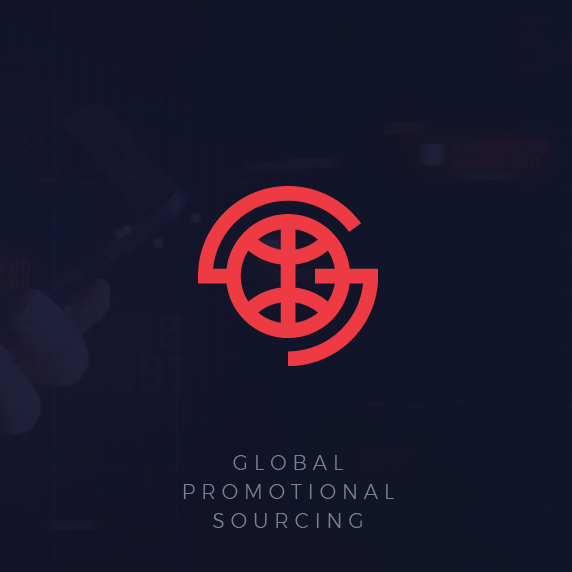 Promotion logo with the title 'Global business logo '