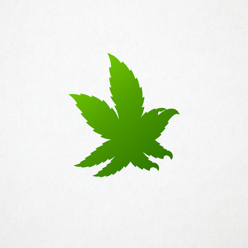 Weed logo with the title 'Nova'