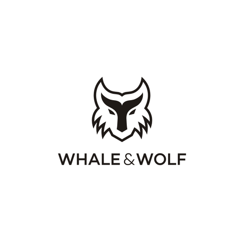 Whale logo with the title 'Whale and Wolf'