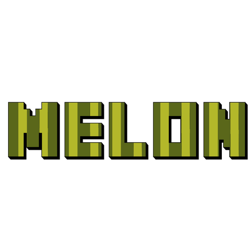 Melon logo with the title 'Design for Minecraft Server Hosting Company'