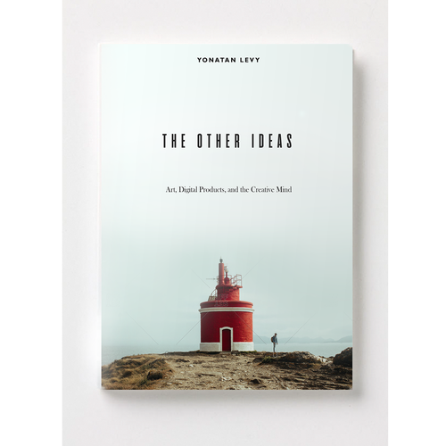 Digital book cover with the title 'Minimalistic book cover'