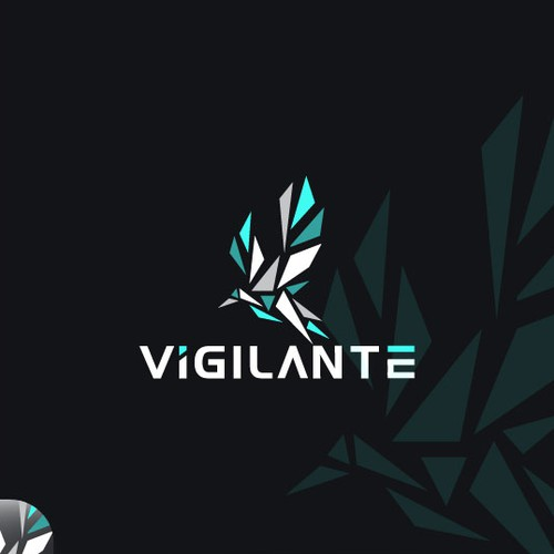 Bacteria logo with the title 'Vigilante'