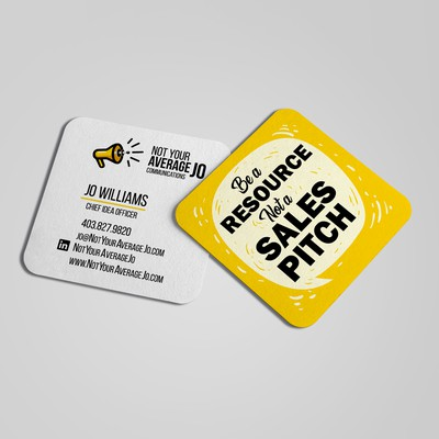 Unique Custom Business Card Design