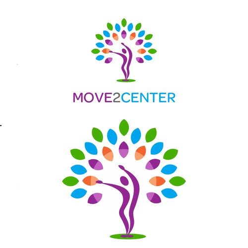 Center logo with the title 'Move2Center'