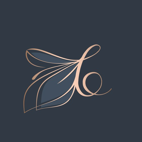 Calligraphy logo with the title 'Luxury logo concept for lifestyle brand-BALLAFEN'