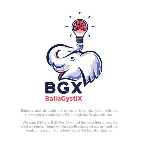 Youth logo with the title 'BallaGystix'