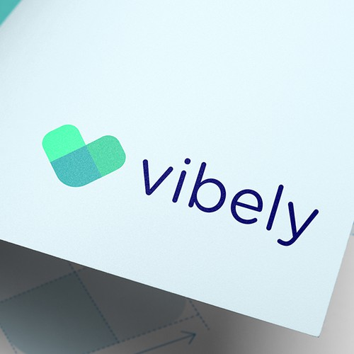 Social logo with the title 'Vibely'