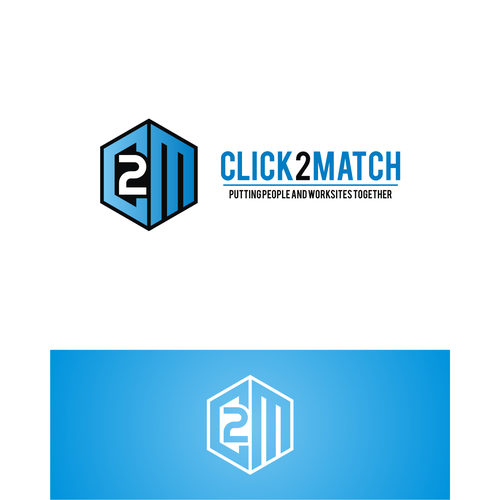 Contractor logo with the title 'Click2Match'