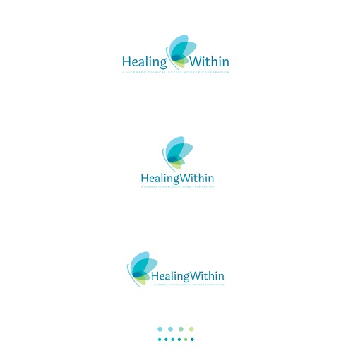 Clinic design with the title 'Healing Within'