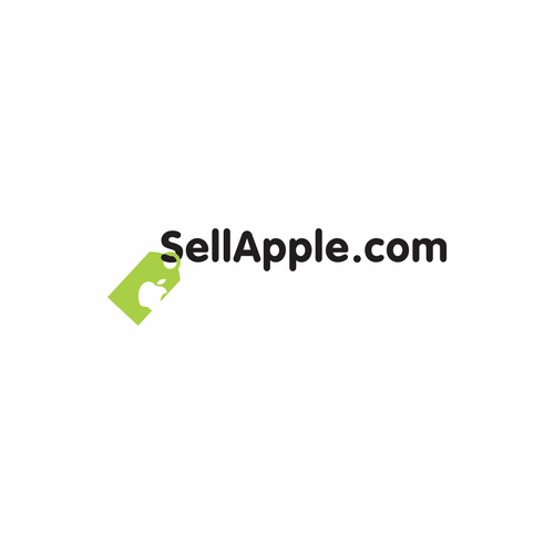 Price tag design with the title 'Apple logo'