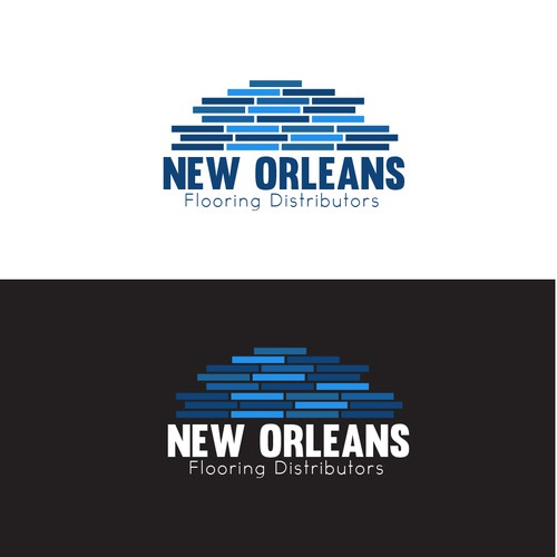 Floor logo with the title 'New Orleans - Flooring Distributors '