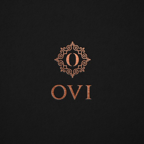 Logo with the title 'Modern logo proposal for Ovi's clinic!'