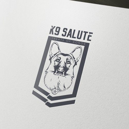 Loyalty logo with the title 'K9-Salute'