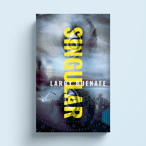 Series book cover with the title 'Science fiction'