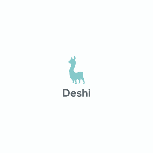 Llama logo with the title 'Deshi'