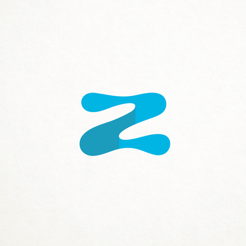 Z logo with the title 'Zelma pools'
