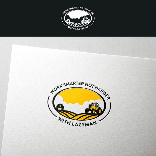 Agricultural design with the title 'Create a fun logo for a new product line'