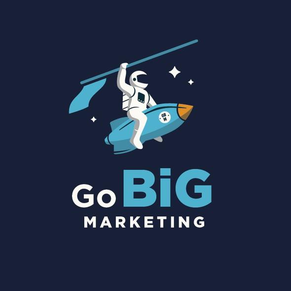 Big design with the title 'Go Big Marketing'