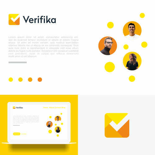 Check mark logo with the title 'Verifika'