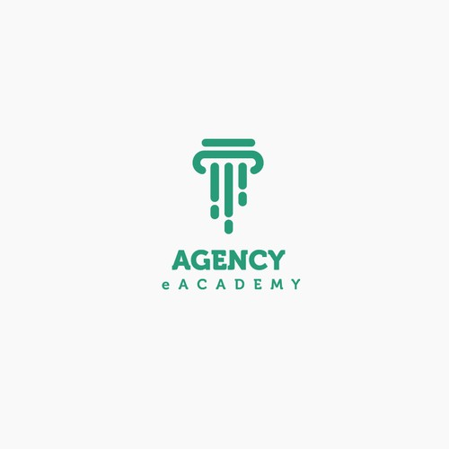 Academy logo with the title 'Logo for  insurance agents'