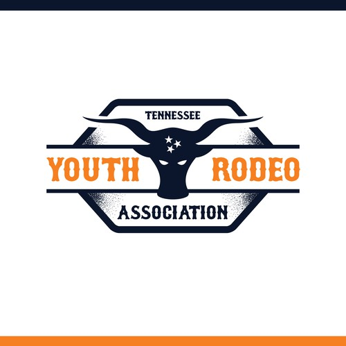 Tennessee design with the title 'Tennessee Youth Rodeo Associatiom'