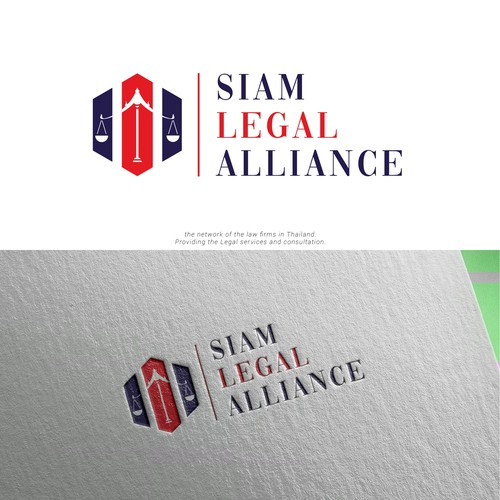 Thai logo with the title 'Siam Legal Alliance'