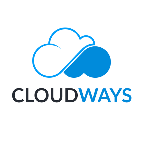 Hosting logo with the title 'Logo for a Cloud Hosting company'