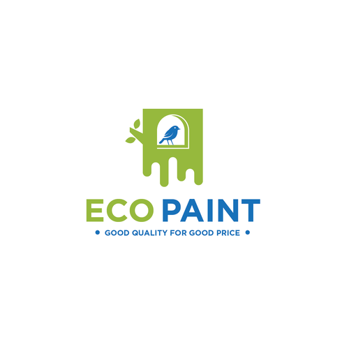 Price logo with the title 'Paint Factory manufacturing economical paints'